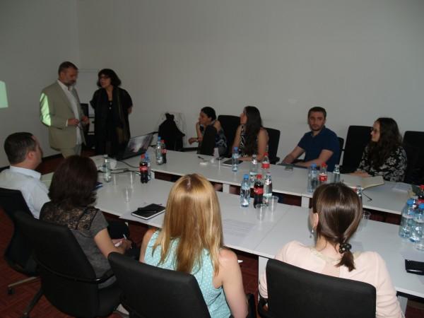 საკონსულტაციო შეხვედრები – პრესონალური ინფორმაციის დაცვა