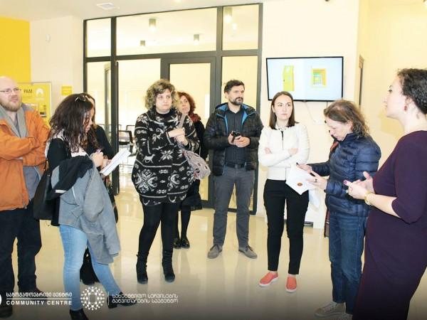 მეჯვრისხევის საზოგადოებრივ ცენტრში ევროპელ ჟურნალისტებთან საინფორმაციო ხასიათის შეხვედრა გაიმართა