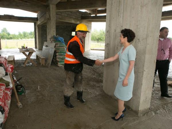იუსტიციის სამინისტრო საზოგადოებრივი ცენტრების მშენებლობას განაგრძობს