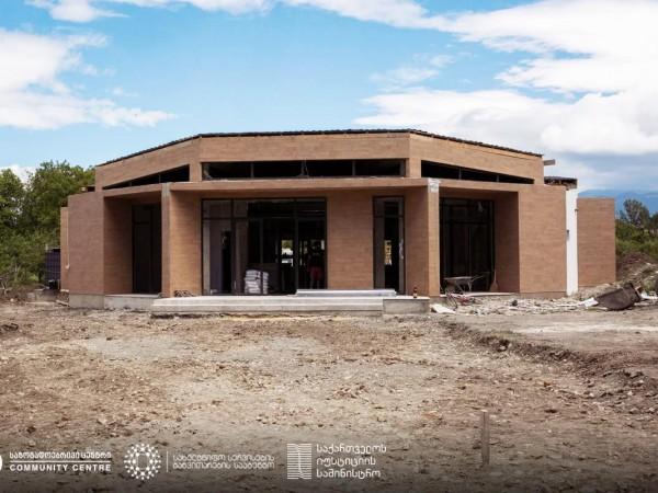 თეა წულუკიანმა ტყვიავის საზოგადოებრივი ცენტრის მშენებლობა დაათვალიერა