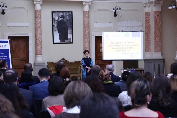 იუსტიციის მინისტრმა მიგრაციის შესახებ საერთაშორისო კონფერენცია გახსნა