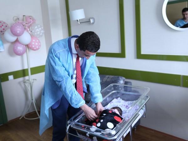 სსიპ სახელმწიფო სერვისების განვითარების სააგენტო ახალშობილების საიდენტიფიკაციო სამაჯურებით სამშობიაროების მომარაგებას აგრძელებს