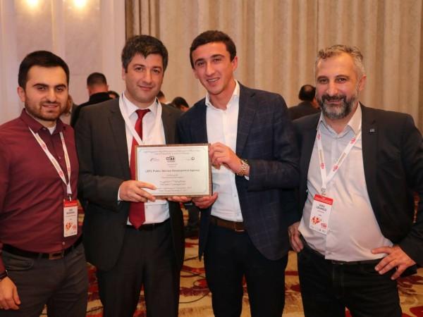 სერვისების განვითარების სააგენტო GITI 2017-ის ორი ჯილდოს მფლობელი გახდა
