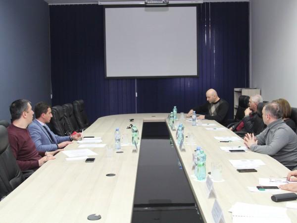 სახელმწიფო სერვისების განვითარების სააგენტოსა და ცენტრალური საარჩევნო კომისიის ხელმძღვანელების შეხვედრა