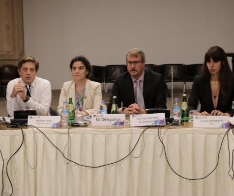 სახელმწიფო სერვისების განვითარების სააგენტოს მიგრაციის საკითხთა სამთავრობო კომისიის სამდივნოს ჩართულობით თბილისში აღმოსავლეთ პარტნიორობის ქვეყნების სამუშაოშეხვედრა