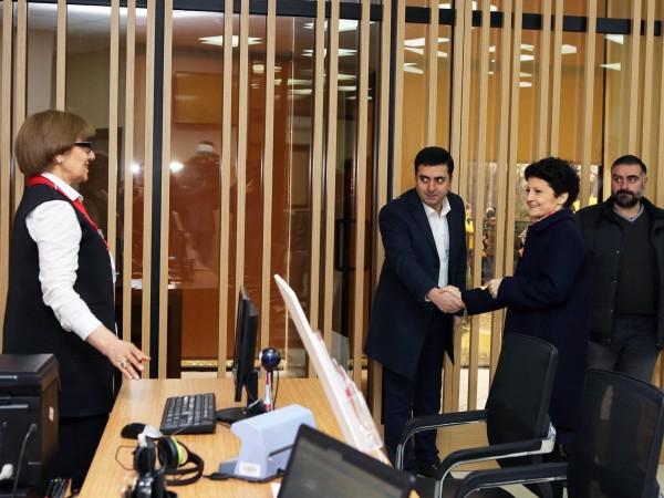 თეა წულუკიანმა დმანისში 59-ე საზოგადოებრივი ცენტრი გახსნა