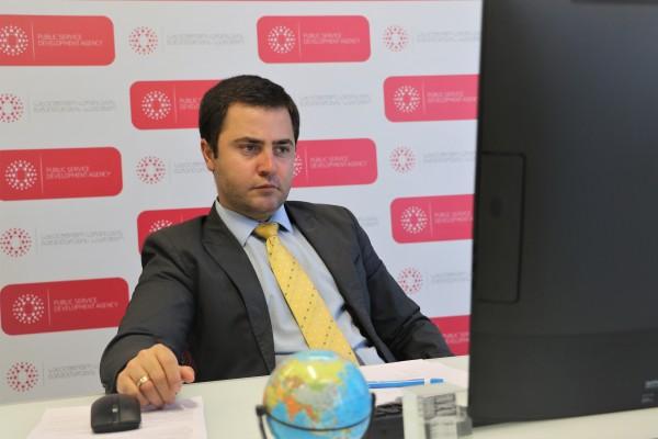სახელმწიფო სერვისების განვითარების სააგენტოს თავმჯდომარემ გაეროს განვითარების პროგრამის (UNDP) მიერ ორგანიზებულ ვებინარში მიიღო მონაწილეობა